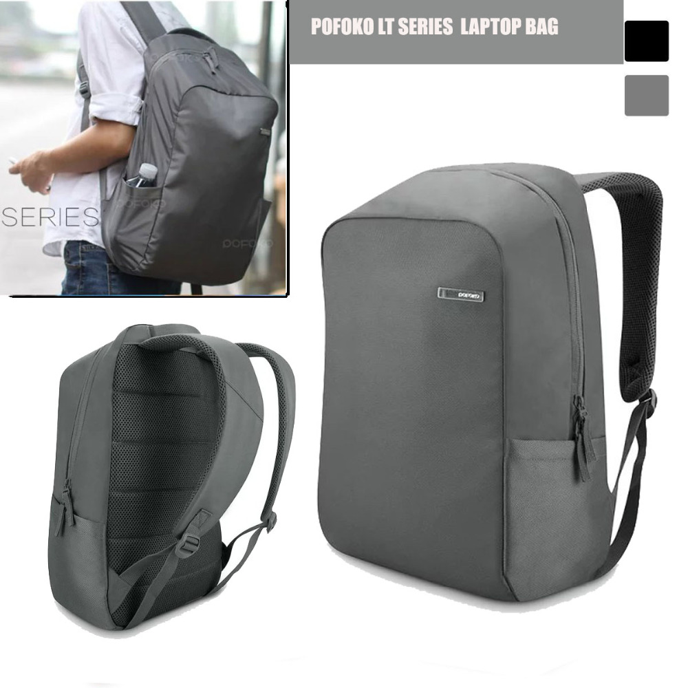 ФОТО Laptop Backpacks/ Bag, 14 inch POFOKO LT Unisex Water Resistant Slim Business Laptop Tablet Backpack KnapSack Dual Shoulders Bag