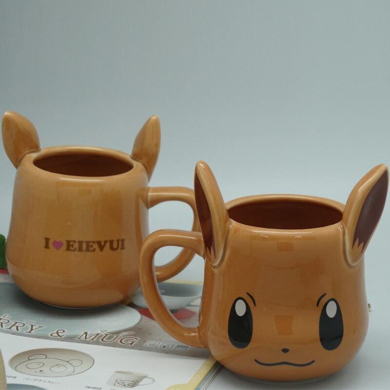 Anime Game Pocket Monsters Pikachu Coffee Mug Creative