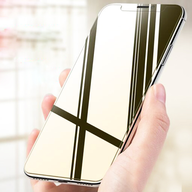 new concept 30c37 df113 US $2.69 7% OFF|Mayround 3D Mirror Temper Glass Film Color Changing Magic  Screen Protector For iPhone X 8 Plus 6s 7 Plus SE 5S Screen Film-in Phone  ...