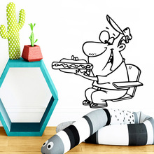 Modern Fast Food Decorative Sticker Waterproof Home Decor Pvc Wall Decals Party Wallpaper stickers muraux