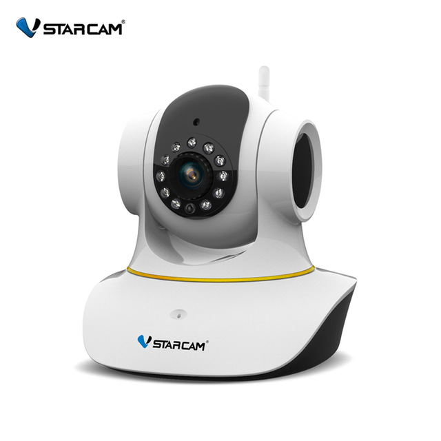 VStarcam C35S 1080P IP Camera Day and Night Vision Support Motion Detector Two Way Audio Pan/Tilt Wireless Network baby Camera 300000 pixels cmos audio pickup 24ir night vision support 32gb tf card storage vehicle camera day night serial jpeg camera