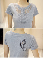 FEKEHA Summer T-shirt Women Casual Lady Top Tees Cotton White Tshirt Female Brand Clothing T Shirt Top Tee Plus Size 4XL