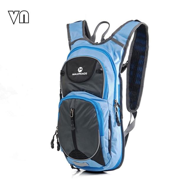 2016 VN Brands Men's Travel Bags Waterproof  Backpack Bike Shoulder Bag Men Backpacks Bicycle Backpacks Can Hold A Water Bladder