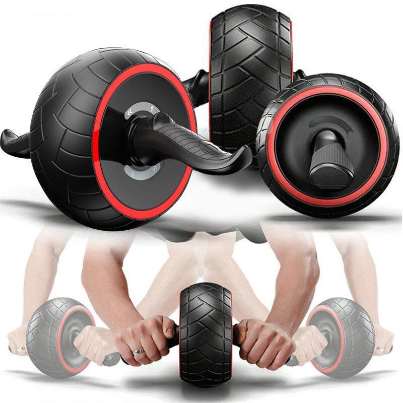 Hommes Body Building Gym Exercices Tainer Abdominale Crossfit ABS Simulateur de Remise En Forme Musculaire AB Rouleau De Roue pour Appareils De Fitness