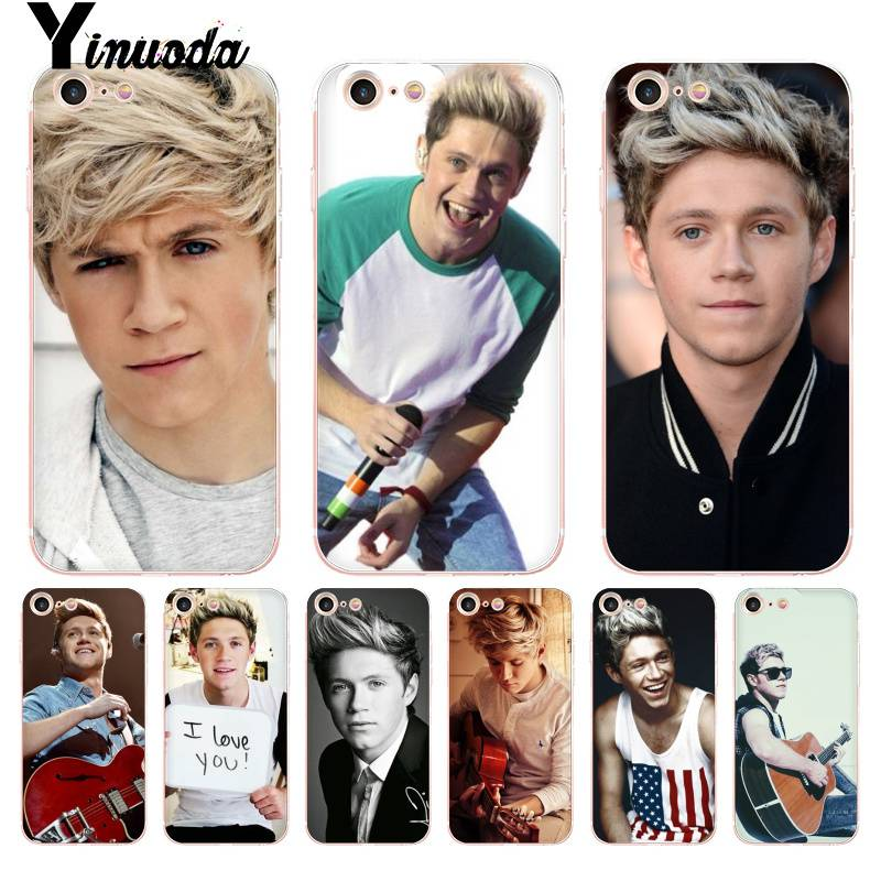 Yinuoda niall horan iPhone wallpaper 2016 Transparent Phone Cover Case for iPhone 8 7 6 6S Plus X 5 5S SE XR XS XSMAX image