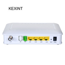 KEXINT GPON/GEPON ONU FTTH 4Port OLT 1GE+1PON+Build-in WIFI GPON/GEPON ONU Transceiver Equipment