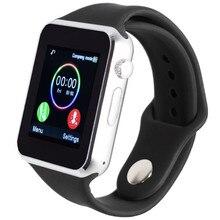 Smart watch T2 A1 для android поддержка Whatsapp SIM TF шагомер спорт bluetooth нажмите для сяо mi телефон наручные DZ09 GT08 GT88