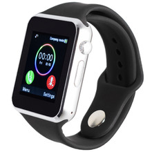 Smart watch T2 A1 for android support Whatsapp SIM TF pedometer sport bluetooth push for xiao mi phone wristwatch DZ09 GT08 GT88