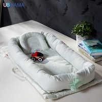 高品質コットン折りたたみ枕木ポータブル子供ベッドソフト新生児ベビーベッド製品 0-36 メートル赤ちゃん