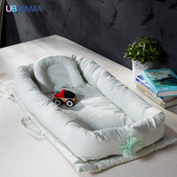 High Quality Cotton Foldable Sleeper Portable Kids Bed Soft Newborn Baby Crib Baby Product For 0