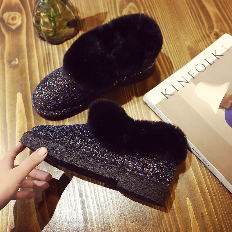 Mature Womens Shoes 2018 Winter Comfort, Warmth, Plus Work Boots, Fashionable Personality, Mature Personality Boots.
