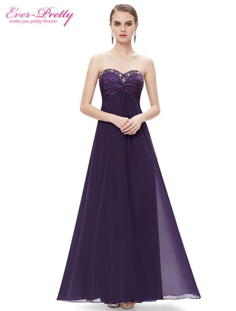Formal Vestidos de Noche Siempre Pretty CUENTAS HE09568 2016 Rhinestones Ruffles Crystal Beadschiffon Diseño Vestidos de Noche de Envío Rápido
