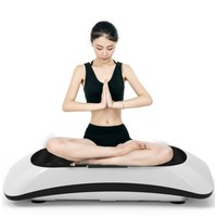 Fat Burning Fitness Massager Indoor Electric Music Vibration Exercise Machine Losing Weight Shake Slim Exercise Equipment