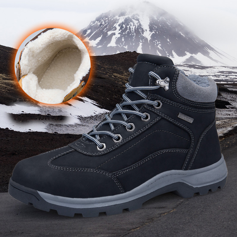 Men Hiking Shoes Boots Camping Climbing Shoes Man Sneakers Breathable Mountain Walking Boots Waterproof Shoes humtto new hiking shoes men outdoor mountain climbing trekking shoes fur strong grip rubber sole male sneakers plus size