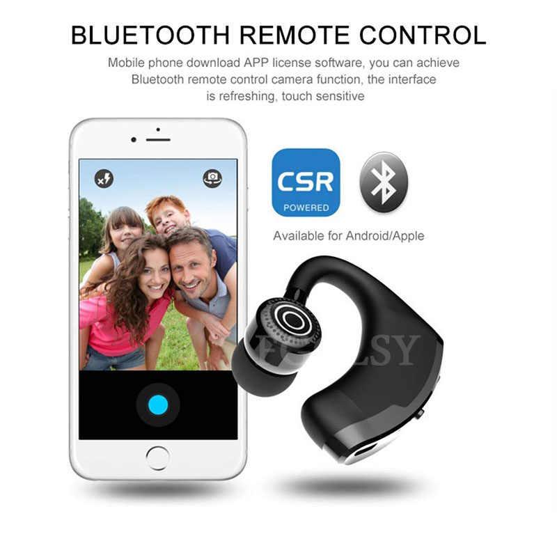 FGCLSY 2019 nowy V9 bezprzewodowy zestaw słuchawkowy Bluetooth słuchawki Stereo zestaw głośnomówiący otrzymać telefon zwrotny od biznesowy zestaw słuchawkowy z mikrofonem dla iPhone Samsung