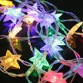 Мерцают Звезды Свет Игрушки Light-up Пентаграмма Форма LED Игрушки Строку