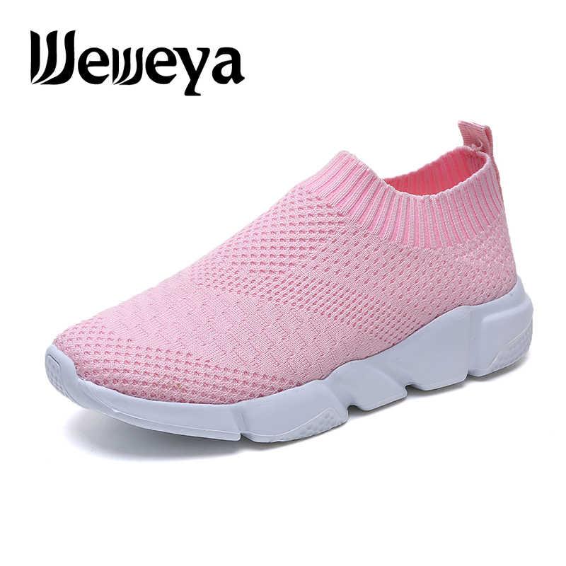 Weweya 2020 New Sock Sneakers Women