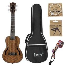 Irin Tenor Ukulele Kits 26 Polegada Saco Ukelele Capo Violão Traste 18 Walnut Madeira Alça de Pescoço Mogno Havaí 4 cordas da Guitarra