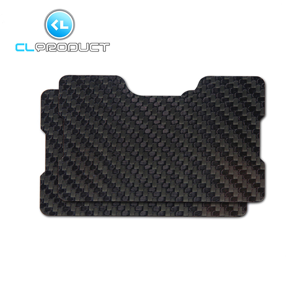 Credit card holder RFID Glossy Genuine S3K Twill Carbon Fiber ...