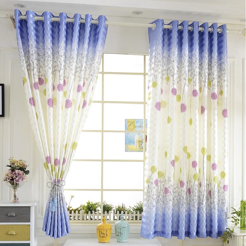 byetee corto pastoral impreso cocina mirador de cortinas cortinas para puertas de kid