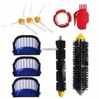 Replacement Brush Vacuum Filter Part Kit For IRobot Roomba 610 600 650 620 Serie