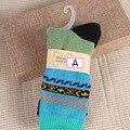 Горячая свободного покроя хлопчатобумажные носки ретро дизайн многоцветный мода платье мужчины женщины носки