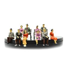 1/30 ALL Seated People sitting figures scenery passengers for model making architecture