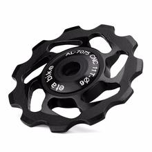 Ultralight MTB Rear Derailleur Pulleys Aluminum Alloy Bike Bearing Wheel Chain Guard Gear Protector Bicycle Parts