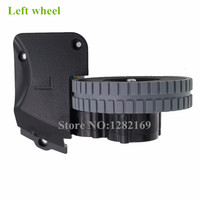 1 piece Original Left Wheel with Motor for Robot Vacuum Cleaner Ilife a4s a4 robotic Vacuum Cleaner Parts ilife a4