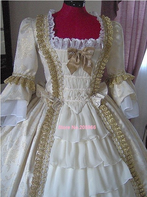 Custom Made 1700s Colonial Dress 1770s Maria Antoinette Gown For ...