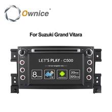 4G SIM LTE 1024*600 Octa 8 Core Android6.0 For SUZUKI GRAND VITARA 2005 – 2015 Car DVD Player Navigation GPS Radio wifi 32G ROM