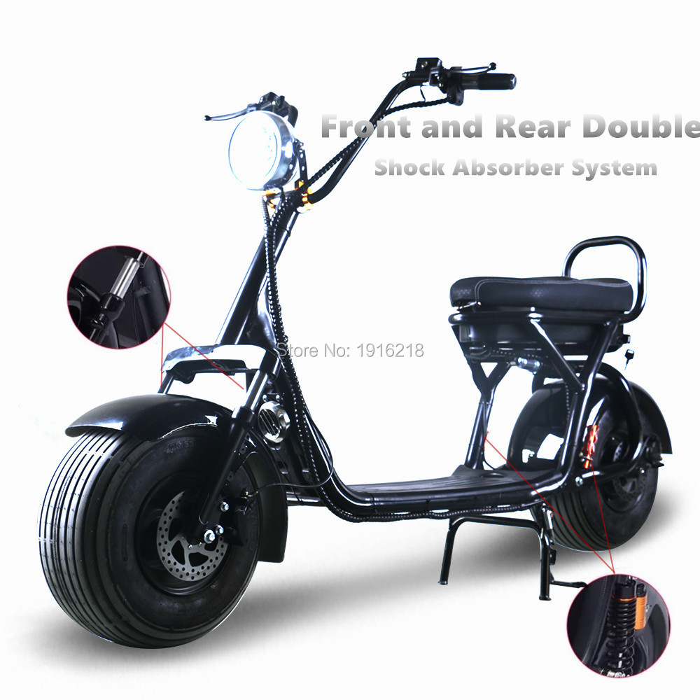 Electrical Scooter Hoverboard removable battery Lithium Front Rear Shock Absorption Adult Electric Scooter
