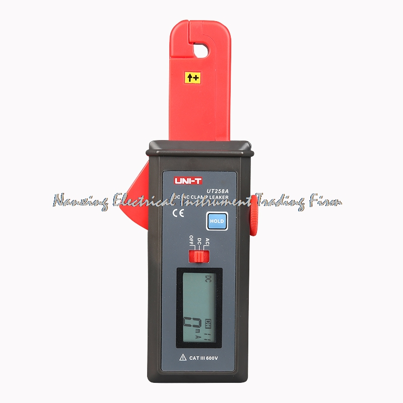 UNI-T UT258A DC/AC Clamp Leaker Meter Sensitivity Leakage Current Tester Ammeter Ampere Analog Meter Amperemeter мультиметр uni t uni trend uni t ut203 rel dc ac 400a uni ut203 400a