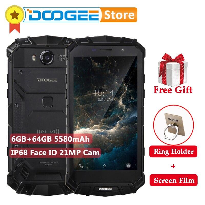 DOOGEE S60 6GB RAM 64GB ROM MTK Helio P25 Octa Core Android 7 0 5 2