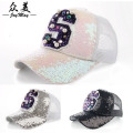 Dongdaemun authentic luxury handmade pearl sequins S letter baseball cap visor baseball cap B240