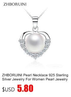 HTB1pCdqbWigSKJjSsppq6ybnpXaQ ZHBORUINI 2019 Pearl Necklace 925 Sterling Silver Jewelry For Women 8-9mm Crystal Ball Natural Freshwater Pearls Pearl Jewelry