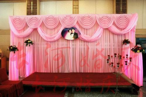 3m6m Luxury Wedding Backdrop With Beatiful Swag Wedding Drape And Curtain Wedding Marriage Decoration