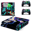 Latest Mob Psycho 100 Game Cover Design Skin Sticker for Sony PS4 PlayStation 4 +2 controller Skins Stickers