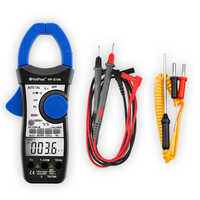 Gamma di Auto Multimetro Digital Clamp Meter Multimetro Pinza Moli Amperometro Amperimetro A Vero RMS Tester di Frequenza, HoldPeak HP-870N