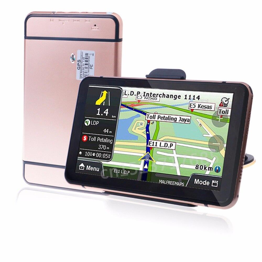 Орианы i6 7-дюймовый gps-навигации FM/8 ГБ/DDR 128 м Новый Карты Россия/Беларусь /Казахстан Европа/США + Канада GPS навигатор