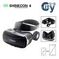 VR SHINECON 4.0 Виртуальной реальности 3D VR Очки BOBOVR google картон VR КОРОБКА с наушники для 3.5-5.5 дюймов смартфон