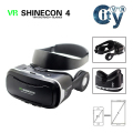 VR SHINECON 4.0 Virtual reality 3D VR Glasses BOBOVR google cardboard VR BOX with headphone for 3.5-5.5 inch smartphone