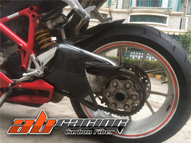 Swingarm Arm Cover For Ducati 848 1098 1198 Full Carbon Fiber 100