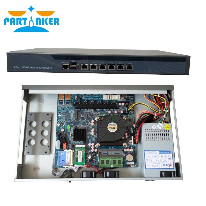 Intel G2020 B75 82583V 6 LAN Firewall Router support Radius_Manager Panabit PFSense monowall PFS OPENWRT Router OS