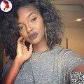 Short Curly U Part Wig 8A Grade UPart Wig Human Hair 1X3 Side Part Wigs Brazilian Hair Black Woman Virgin Hair