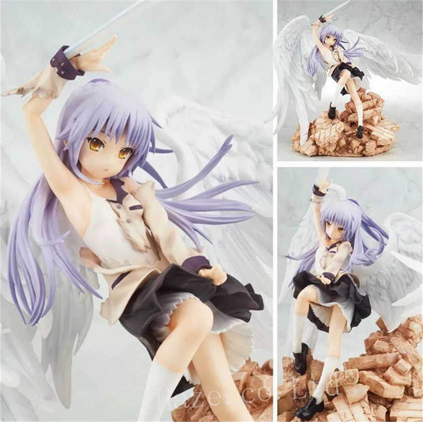 Broccoli Angel Beats!1st Beat - Tenshi 1/8 Scale Complete PVC Figure sexy girl action figure angel beats tenshi kanade tachibana good smile ver limited 1 8 7 8 20cm pvc toy sg014