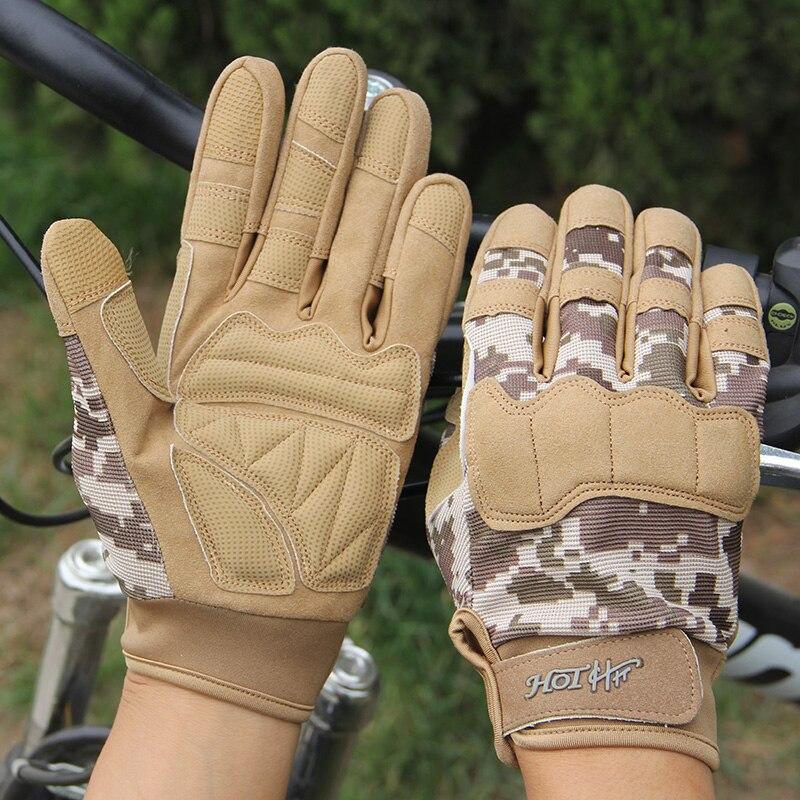 CINGHI LUSSO Sport En Plein Air Hommes Femmes Long Complet Finger Camouflage Camouflage Gants Tactiques Grossistes Écran Tactile Mitaines Masculins