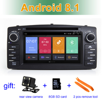 Android 8.1 Car DVD Player Radio for Toyota Corolla E120 BYD F3 with wifi BT Stereo GPS
