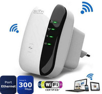EU Plug 300Mbps Wireless N Wifi Repeater Router Roteador Range Expander Signal Booster Bridge Repetidor Extender