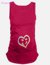 Summer Plus Size Pregnant Women T-shirts Maternity Tees Clothes Nursing Top Pregnancy